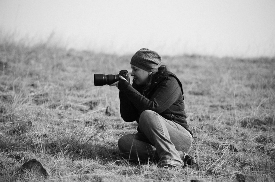 haniel salazar tomando fotos - fotógrafa de bodas