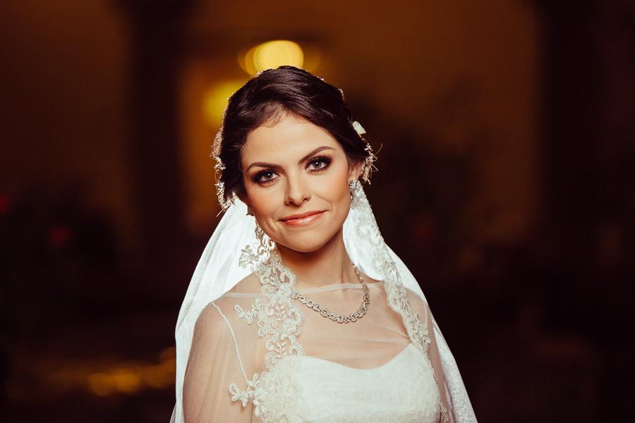 retrato de la novia en hotel quinta real puebla