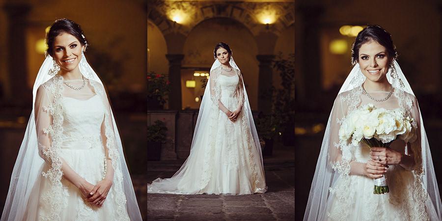 distintos retratos de la novia