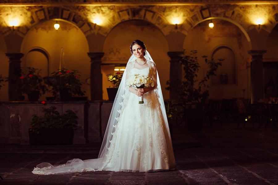 full siza bride portrait