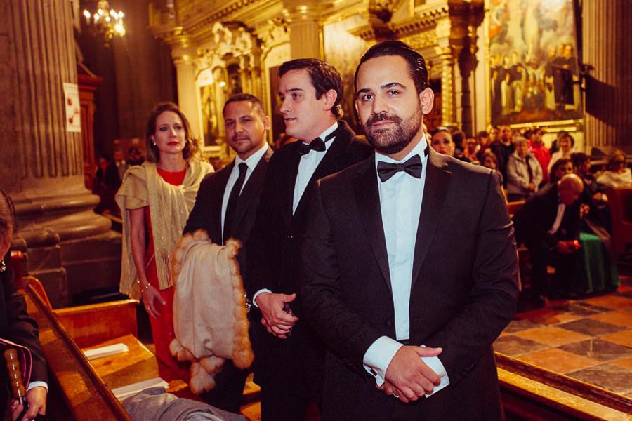 boda en la catedral de puebla - invitados