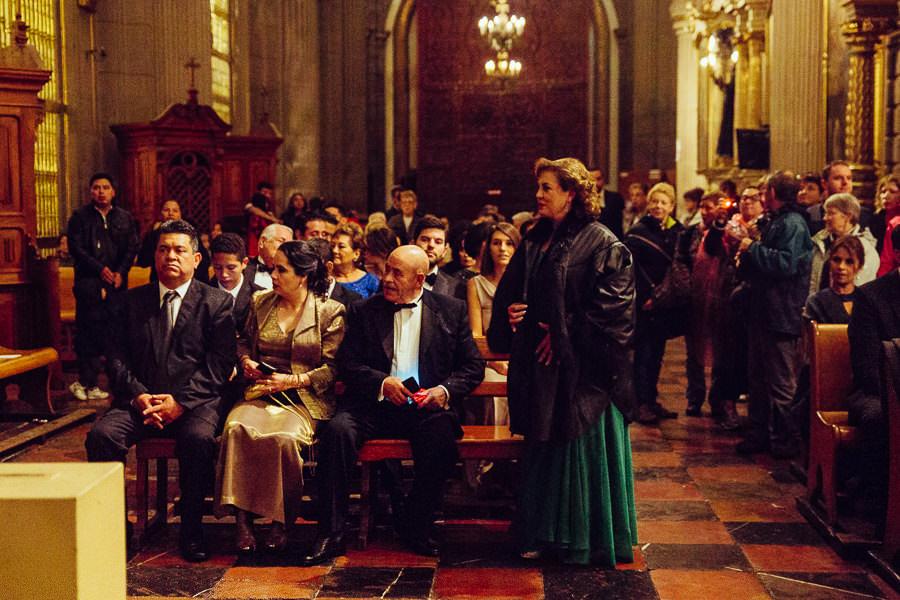 invitados a boda en la catedral de puebla