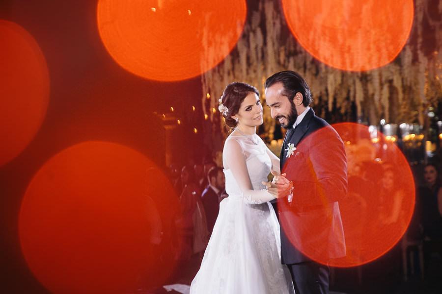 luces y primer baile - boda en el museo de arte virreinal