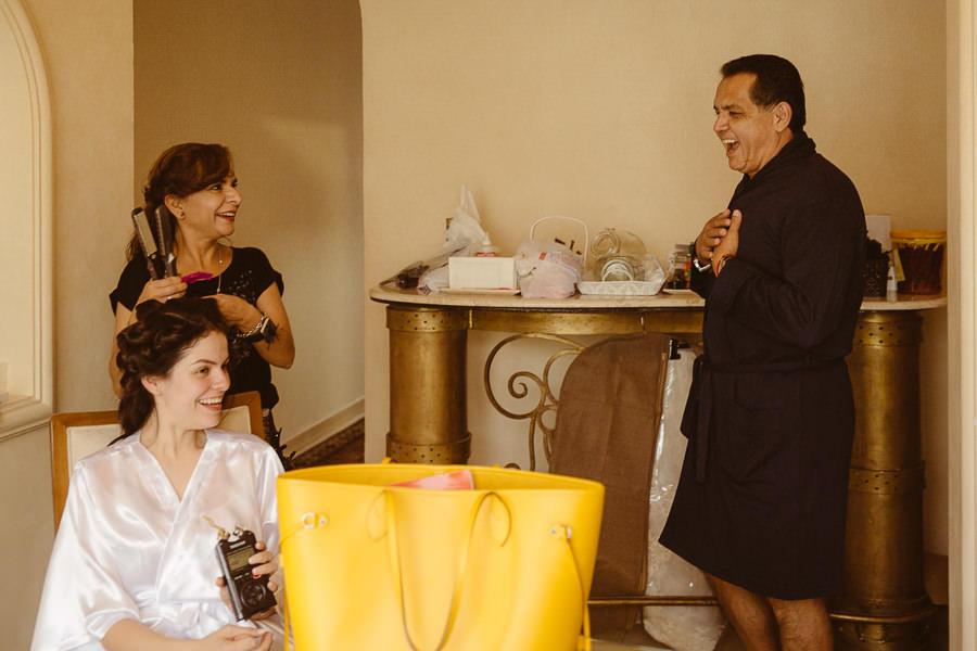ana y su papa - boda en puebla mexico