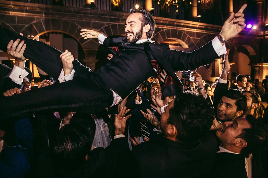 el novio vuela 2 - boda en museo de arte virreinal puebla