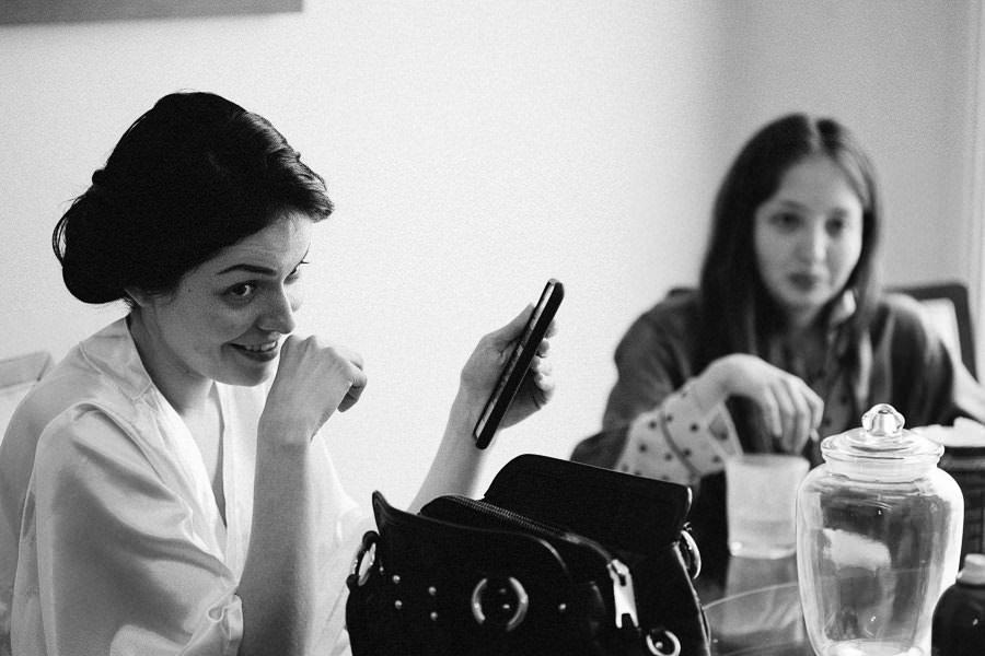 ana karina y su telefon o - boda en puebla mexico