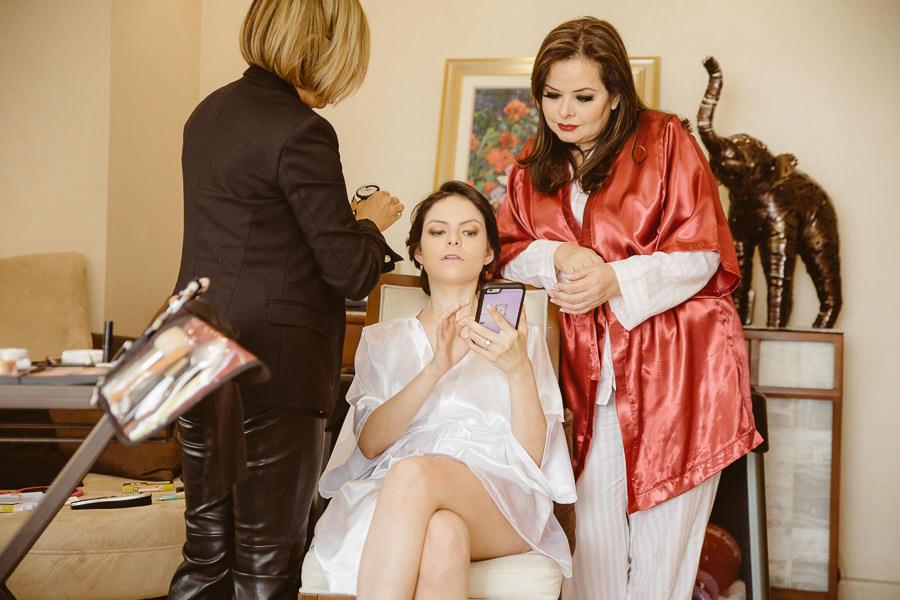 ana karina y su mama - boda en puebla mexico