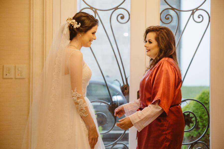 la novia y su mama - boda en puebla mexico