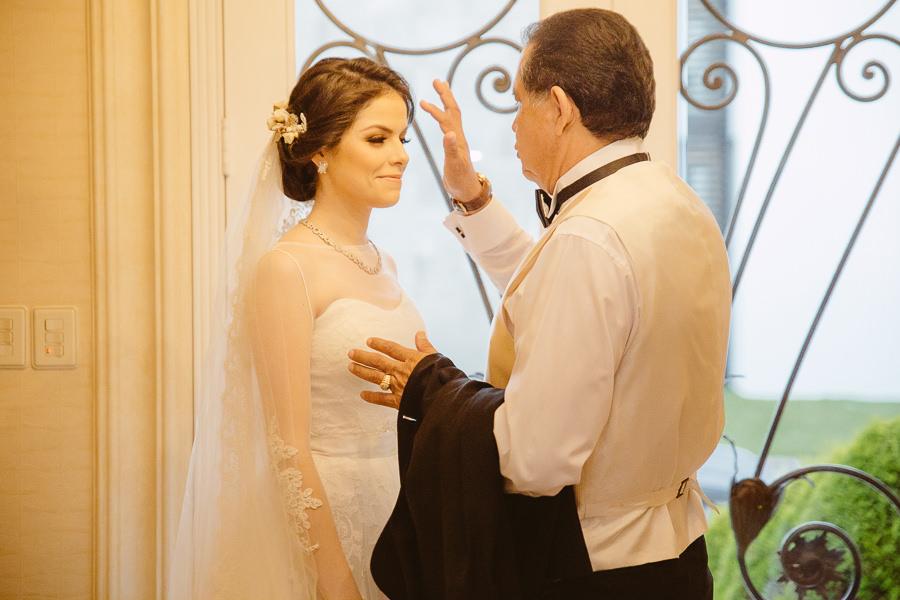 la novia y su papa - boda en puebla mexico