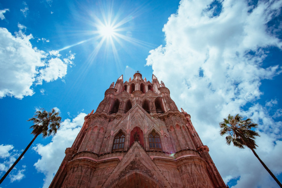 Parroquia de San Miguel Arcángel  boda en san miguel de allende