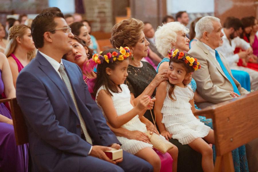 niños en Parroquia de San Miguel Arcángel