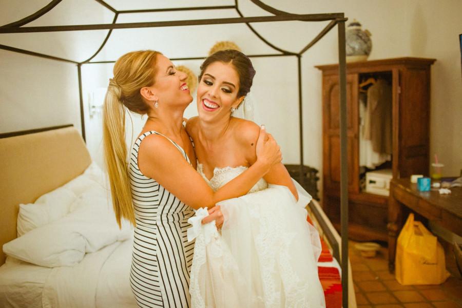 boda en san miguel de allende - mama y la novia