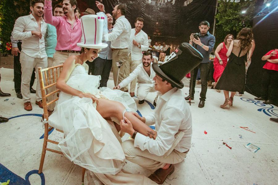 boda en san miguel de allende - el momento de la liga