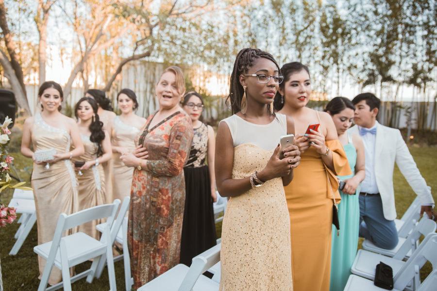 invitadas a la boda