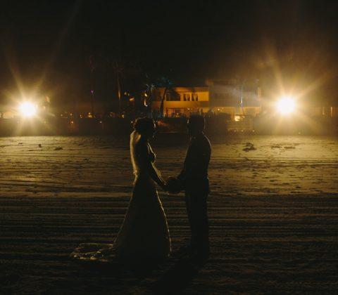 boda en acapulco - retratos nocturnos