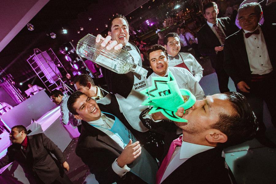 fotos de la fiesta en una boda en queretaro