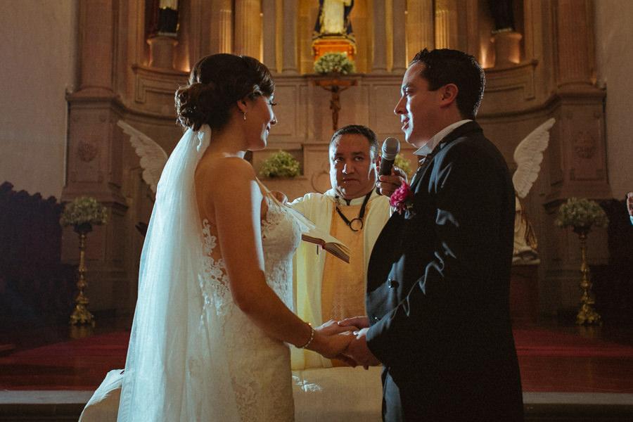boda en querétaro los novios en los votos