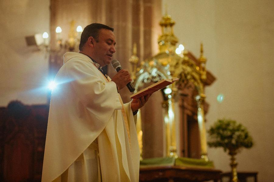 el padre de la iglesia