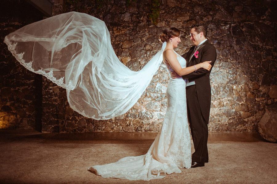velo de la novia vuela