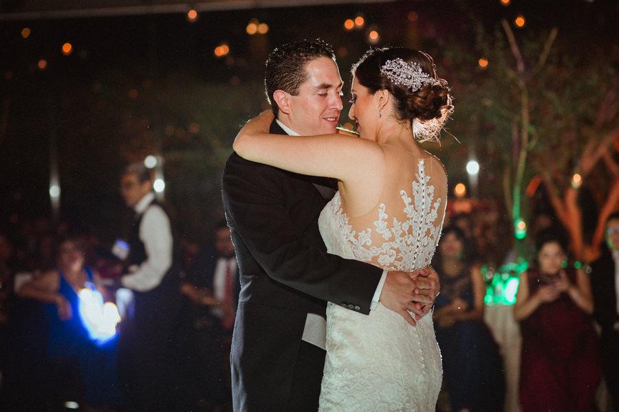 primer baile de novios en una boda en queretaro